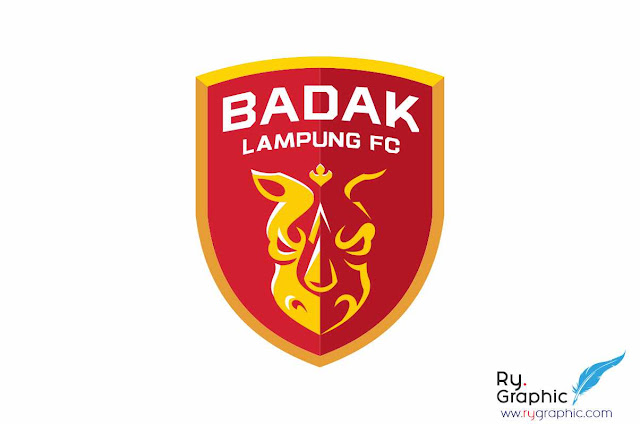 Logo Badak Lampung FC Vector Cdr corelDraw