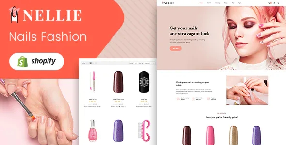 Best Nail, Hair & Beauty Responsive Shopify Theme