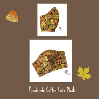 Handmade Fall Face Masks