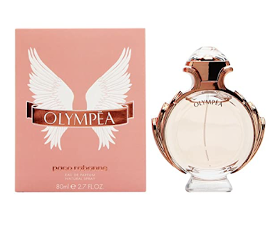 Paco Rabanne Olympea Eau de Parfum Jasmine and Ginger flower Perfume close with cashmere woods