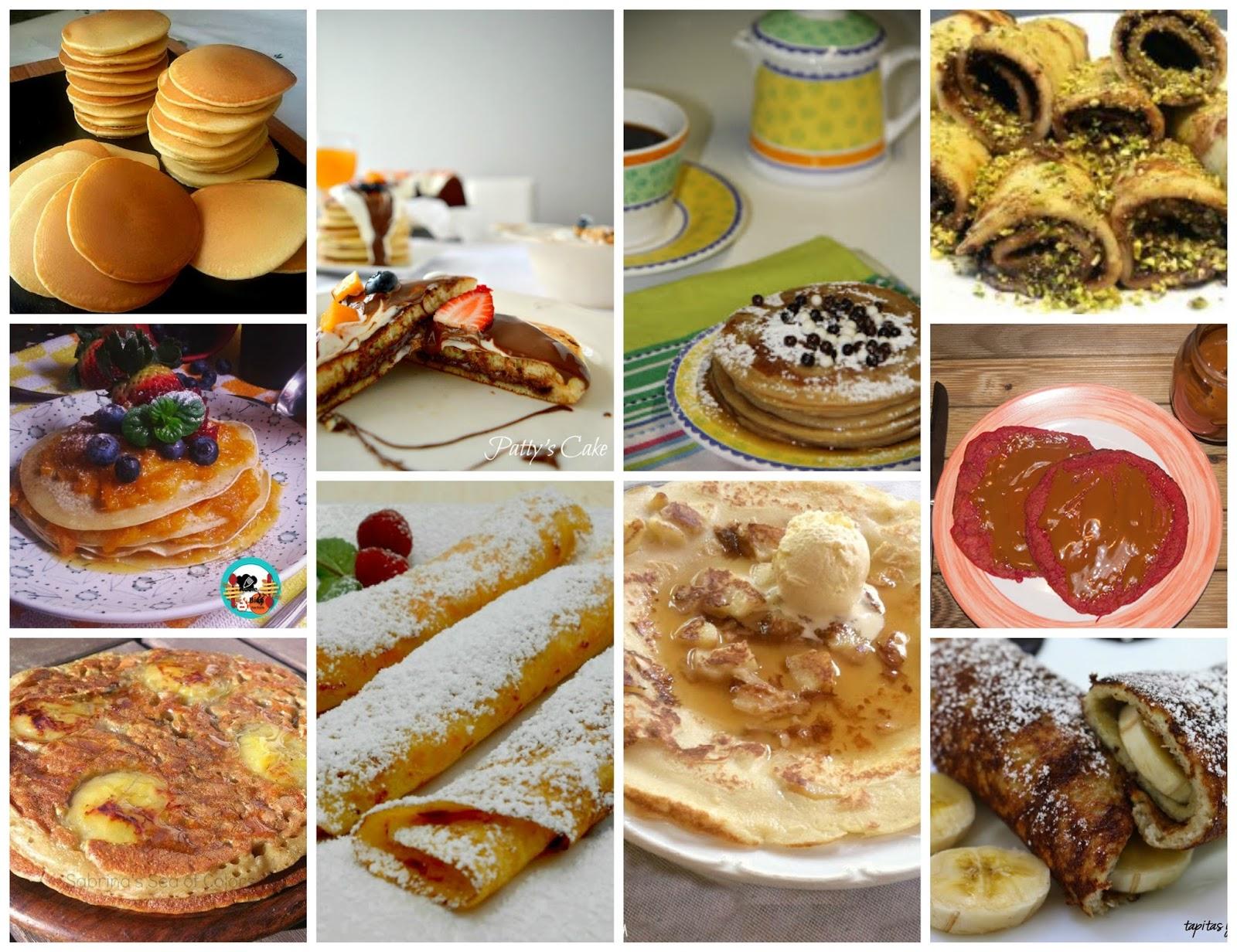 10 recetas de tortitas y crepes para un desayuno ideal for Ideas comidas faciles