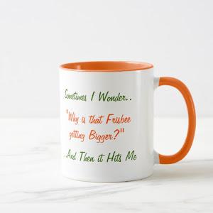 Sometimes I Wonder Funny Joke Humor LOL Tea Coffee Mug