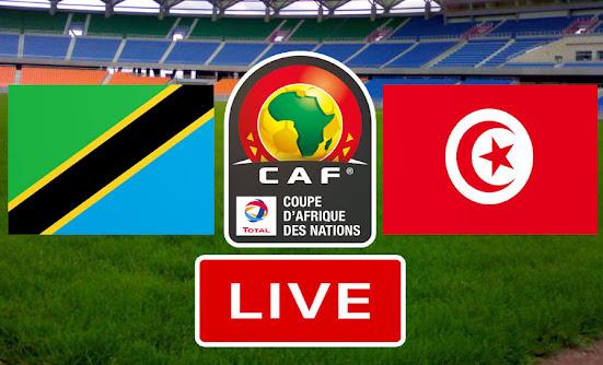 بث مباشر مباراة تونس و تنزانيا في تصفيات كاس امم افريقيا 2021