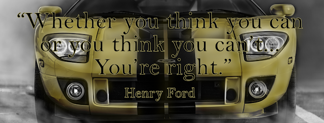 Henry Ford's Law of Attraction Quote FB cover