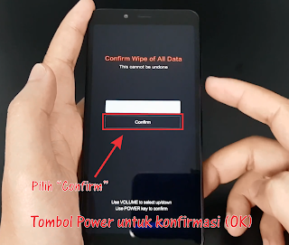 Hard Reset Xiaomi Redmi 6, 6A, 6 Pro Dengan Mudah