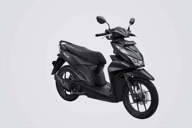 All New Honda BeAT 2020 Warna Deluxe Matte Black