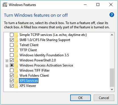 nonaktifkan fitur tidak berguna windows 10
