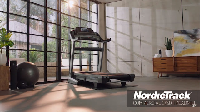 ลู่วิ่งไฟฟ้า NordicTrack Commercial 1750