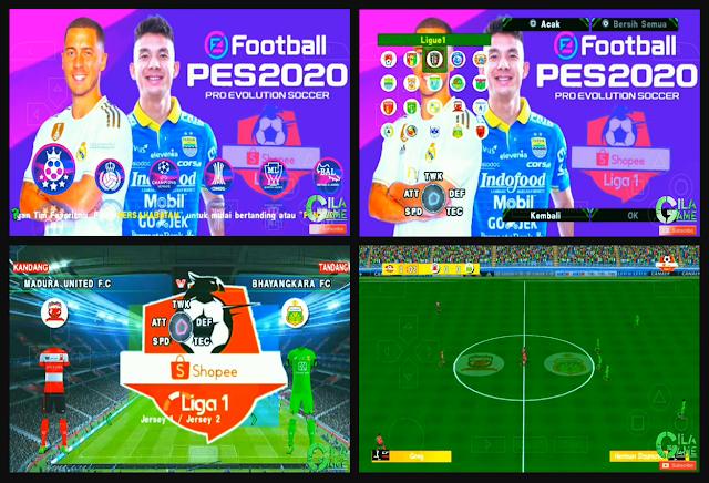Anda jangan lupa untuk Unduh juga file  Download PES Jogress 2020 V3.5 Shopee Liga 1 AFC