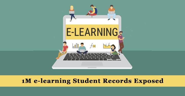 e-learning Students Data Leak