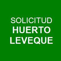 Solicitud Huerto Leveque