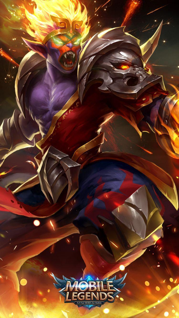 Wallpaper Sun Monkey King Old Skin Mobile Legends HD for Android and iOS