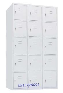 Tủ Locker 15 Ngăn Godrej, Tủ Sắt Cá Nhân 15 Ngăn Godrej