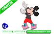 Bordado Infantil Mickey Mouse ✅ Descargar Gratis