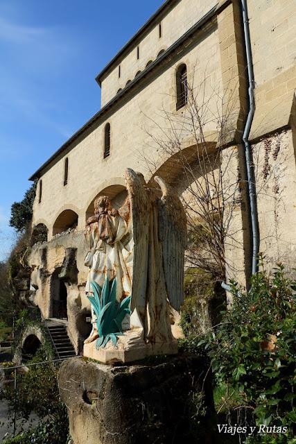 Vista Grutas de San Antonio de Padua en Brive la Gaillarde
