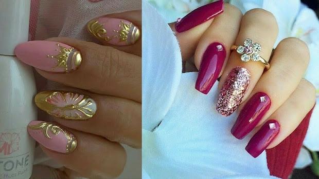 trending eid nail art design