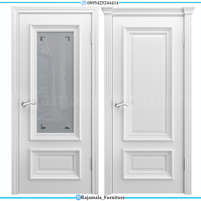 Pintu Rumah Minimalis Putih Elegant Design Interior Inspiring RM-0208