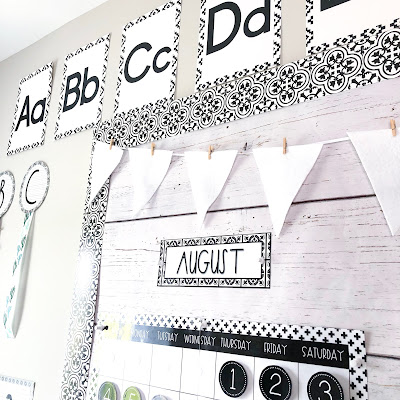 modern farmhouse classroom decor