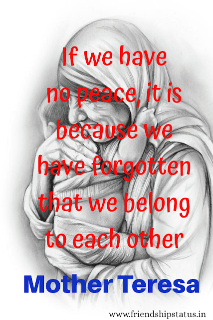 Mother Teresa Quotes on Peace