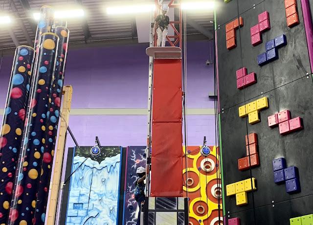 Harlow Vertigo climbing walls