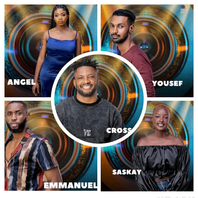 BBNaija S6: Angel, Yousef, Saskay and 2 others are up for possible eviction this Sunday