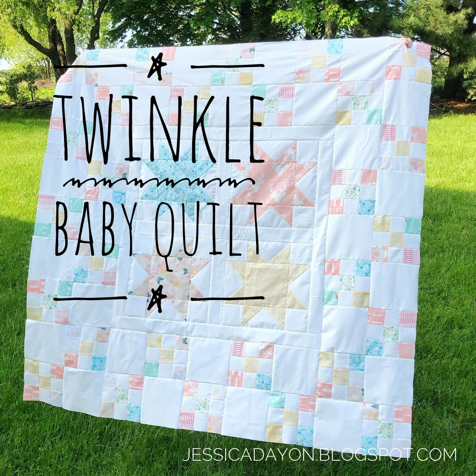 Baby Quilts.com Free Pattern Twinkle Baby Quilt