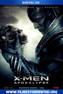 X-Men: Apocalipse – Torrent Bluray 720p | 1080p Dual Áudio 5.1 (2016)