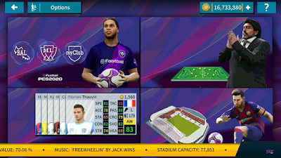 is one of the best mobile soccer game for Android and also you can play it offline Update, Dream League Soccer 2019 Mod eFootball PES 2020