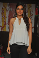 Tanya Hope in a whtie shirt and leggings at Song launch of Movie Patel Sir ~  Exclusive Celebrities Galleries 005.JPG