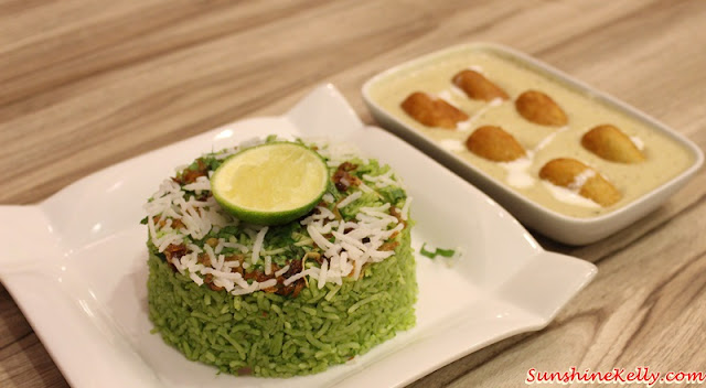 Mustard Green Rice, Malai Koftha Gravy, mumbai delights, plaza mont kiara, indian street food, north india street food, indian spices, indian food,