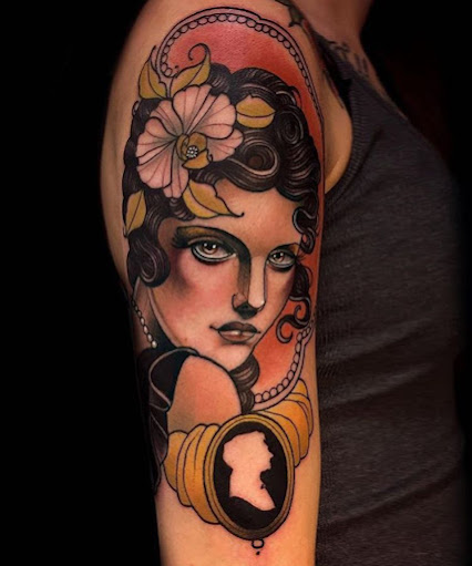 Popular Woman Tattoo