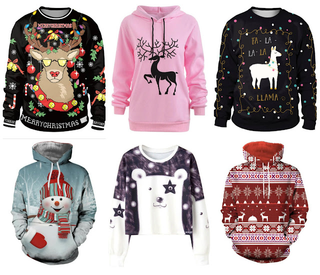 DressLily inspiration. Time to prepare for Christmas: Sweaters