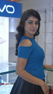 Telugu Actress Yamini Bhaskar Latest Pos in Blue Top and Black Skirt  0008.jpg