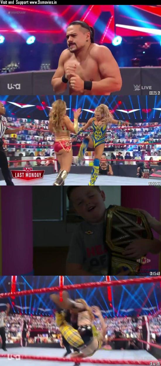 WWE Monday Night Raw 07 September 2020 HDTV 720p 480p 500MB