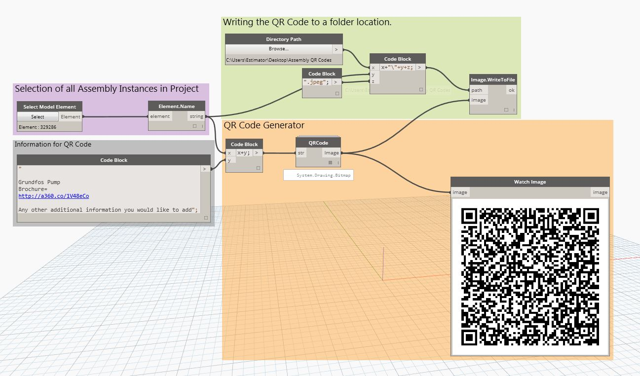 The Revit Saver: Dynamo - QR Coding Assemblies and Families with