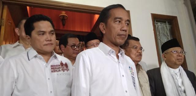 Erick Thohir Akui Kesabaran Jokowi Sudah Hilang