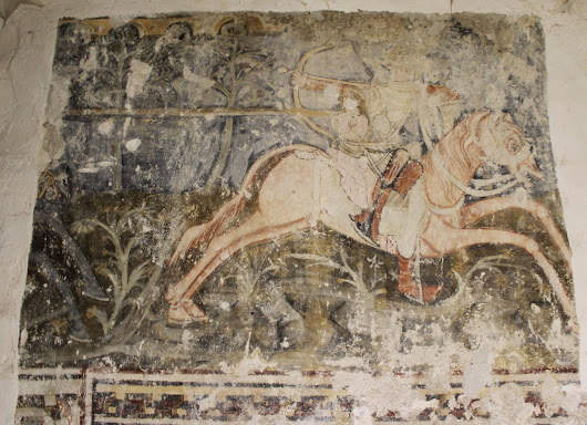 Medieval Fresco Cycle of St. Ladislas Uncovered in Transylvania