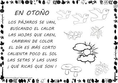 Image result for poesia del otoño para niños