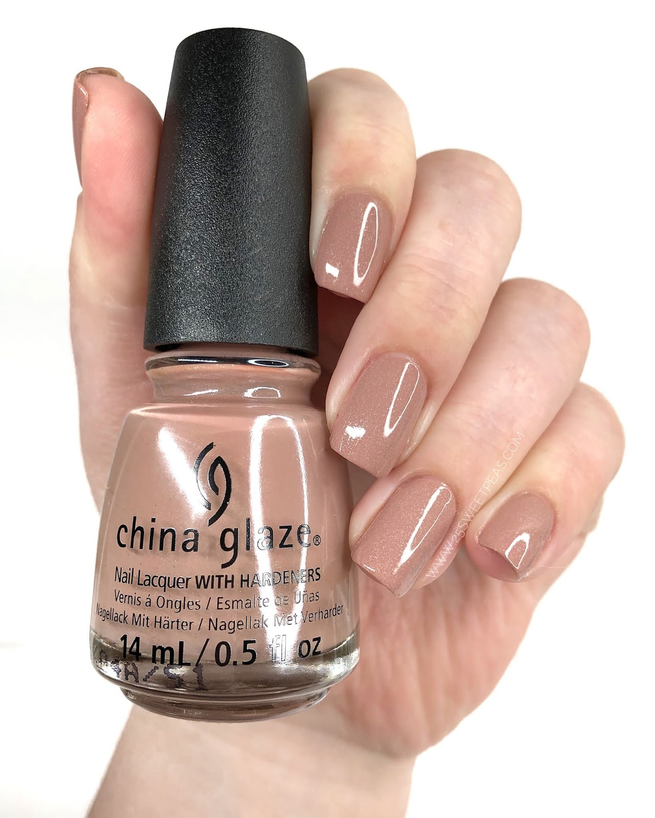 China Glaze Beach Buff 25 Sweetpeas