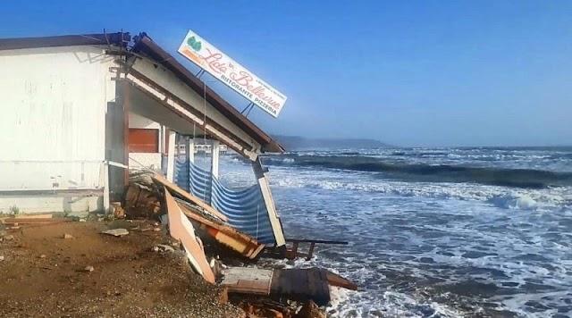 Erosione Eraclea Minoa, titolare stabilimento chiede risarcimento al comune di Siculiana: udienza il 10 dicembre