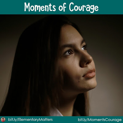 Moments of Courage: This post tells about an experience that showed me what I have worked for mattered in the life of a young lady.