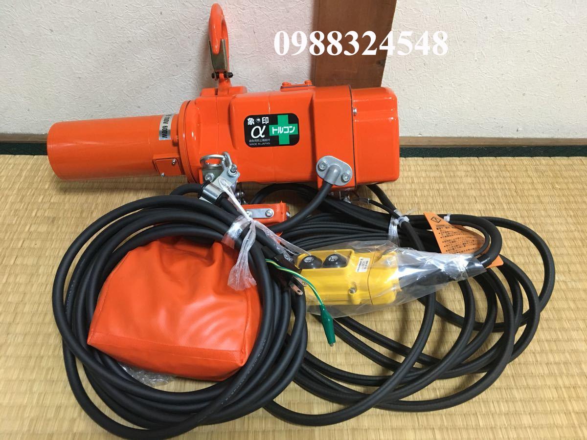 palang điện xích Elephant αS-049 490 kg