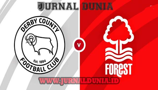 Prediksi Derby County vs Nottingham Forest , Sabtu 27 Februari 2021 Pukul 02.45 WIB