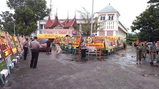 Langgar Prokes, Polisi Bubarkan Paksa Pesta Pernikahan Anak Kepala BPBD Limapuluh Kota