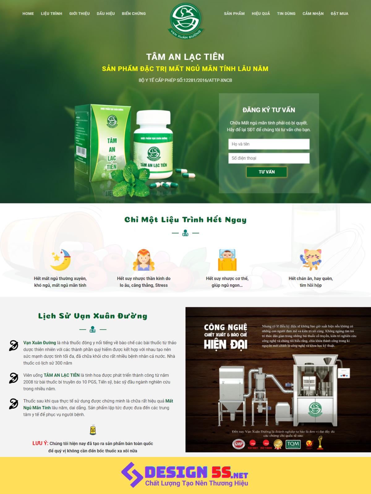 Template blogspot bán thuốc, thục phẩm chức năng VSM03