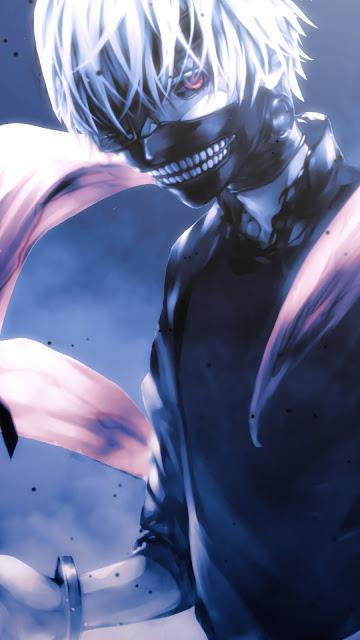 Papel de Parede Ken Kaneki Tokyo Ghoul, Anime, Hd, 4k.