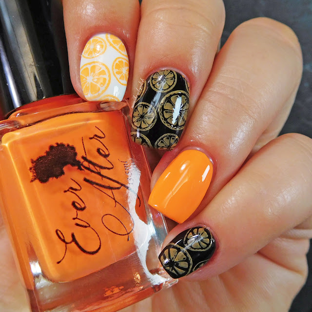 ever-after-lelia-neon-orange-stamping-polish