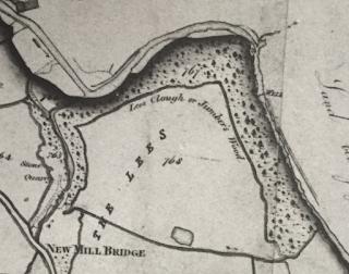 "Jumbles Map 1832 ""Jumber's Wood"""
