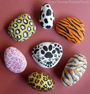 Painting Rock amp Stone Animals Nativity Sets More Idea Animal Prints