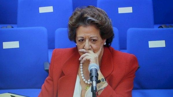 El juez pide al Supremo la imputación de Rita Barberá por blanqueo de capitales